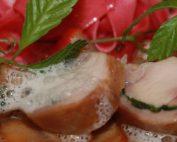 Foto vom Kaninchenrücken anlässlich des Wachauer Gourmetfestivals 2011