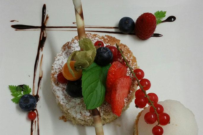 Köstliches Essen beim Donauwirt
